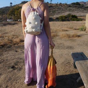 Zara Pompom Backpack